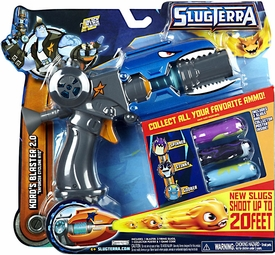 Slugterra Basic Blaster & Evo Dart Kord's Blaster 2.0 [Includes Code for Exclusive Game Items]