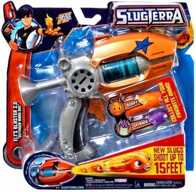 Slugterra Mini Blaster & Evo Dart Eli's Blaster 2.0 {Defender Mark One} [2 Slugs & Poster] New!