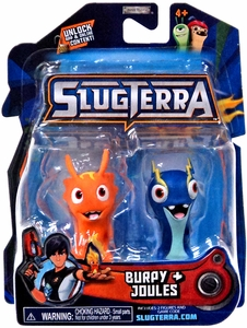 Slugterra Mini Figure 2-Pack Burpy & Joules [Includes Code for Exclusive Game Items] Hot!