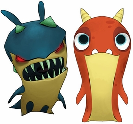 Slugterra Mini Figure 2-Pack Hop Jack & Bluster [Includes Code for Exclusive Game Items] Pre-Order ships April