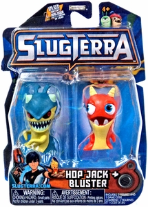Slugterra Mini Figure 2-Pack Hop Jack & Bluster [Includes Code for Exclusive Game Items] Hot! Pre-Order ships May