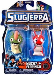 Slugterra Mini Figure 2-Pack Mucky & Flaringo [Includes Code for Exclusive Game Items] Hot!