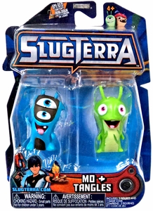 Slugterra Mini Figure 2-Pack Mo & Tangles [Includes Code for Exclusive Game Items] Pre-Order ships August