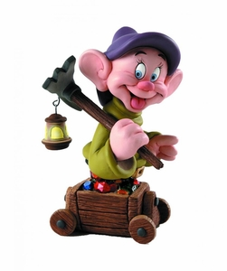 Snow White Grand Jester Mini-Bust Dopey New!