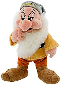 Snow White & The Seven Dwarfs Deluxe 11 Inch Plush Bashful