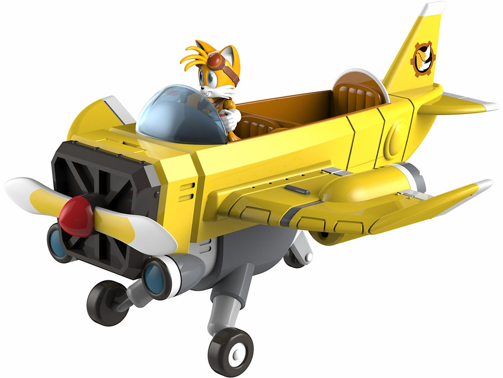 Sonic Boom Tails' Plane Launcher With Sonic Tails Action ...
