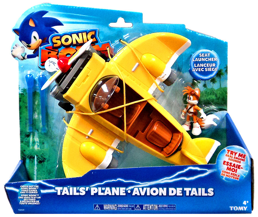 Sonic The Hedgehog Sonic Boom Tail's Plane Action Figure ...