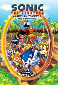 Sonic Comic Book Sonic the Hedgehog Archives Volume 0