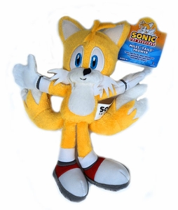 Sonic the Hedgehog Jazwares 6 Inch Plush Figure Miles Tails Prower