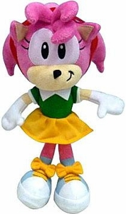 Sonic the Hedgehog Jazwares 7 Inch Plush Figure Amy