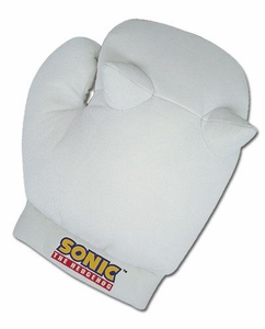 Sonic the Hedgehog Plush Knuckles Gloves