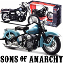 Sons of Anarchy Die Cast Motorcycles!