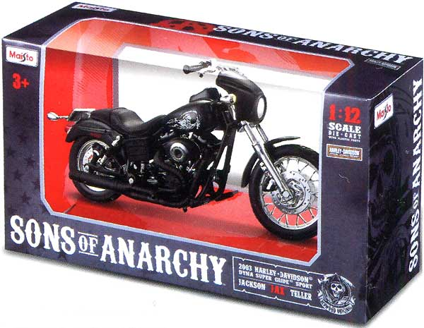 Sons of Anarchy Replica Diecast Replica Bike Sons