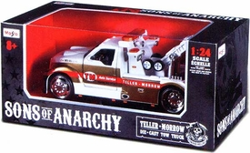Sons of Anarchy Maisto 1:24 Die Cast Replica Truck Teller Morrow Tow Truck Pre-Order ships August