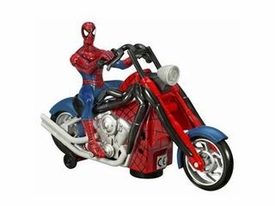 Spider-Man Hasbro Origins Action Figure Bump'n Go Spidey on Chopper