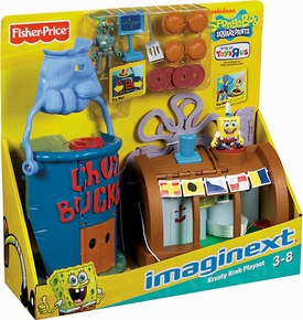 SpongeBob Squarepants Imaginext Exclusive Krusty Krab Playset