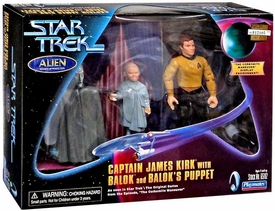 Star Trek Playmates Collector's Series  Action Figure 3-Pack Captain James Kirk with Balok & Balok's Puppet