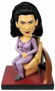 Star Trek The Next Generation Build - A - Bridge Bobble Head Deanna Troi