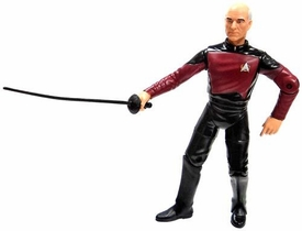 Star Trek: The Next Generation Playmates LOOSE Action Figure Captain Jean-Luc Picard [Qpid]