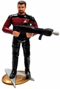 Star Trek: The Next Generation Playmates LOOSE Action Figure William Riker