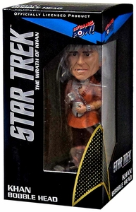 Star Trek Wrath of Khan Bobble Head Khan New!