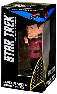 Star Trek Wrath of Khan Bobble Head Spock New!