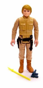 Star Wars 1980 Vintage  Luke Skywalker Brown Hair  Loose Complete C-4 Condition