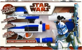Star Wars 2009 Electronic Roleplay Toy Build Your Own Clone Ultimate Commander Blaster