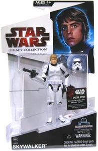 Star Wars 2009 Legacy Collection Build-A-Droid Action Figure BD No. 01 Luke Skywalker in  Stormtrooper Disguise
