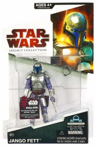 Star Wars 2009 Legacy Collection Build-A-Droid Action Figure BD No. 15 Jango Fett