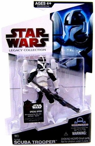 Star Wars 2009 Legacy Collection Build-A-Droid Action Figure BD No. 27 Scuba Trooper