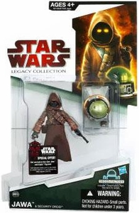 Star Wars 2009 Legacy Collection Build-A-Droid Action Figure BD No. 39 Jawa with Security Droid
