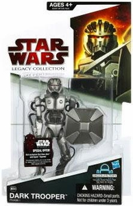 Star Wars 2009 Legacy Collection Build-A-Droid Action Figure BD No. 56 Dark Trooper [Phase I Armor]