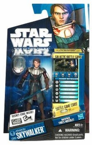 Star Wars 2010 Clone Wars Animated Action Figure CW No. 06 Anakin Skywalker in Space Suit BLOWOUT SALE!