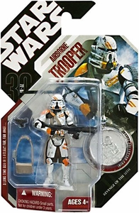 Star Wars 30th Anniversary Saga 2007 Action Figure Wave 1 #07 Airborne Trooper