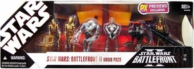 Star Wars 30th Anniversary Saga 2007 Exclusive Action Figure 7-Pack Set Battlefront II Droids