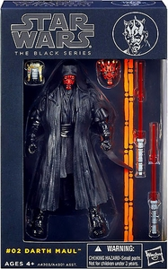 Star Wars Black 6 Inch Series 1 Action Figure Darth Maul
