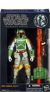 Star Wars Black 6 Inch Series 2 Action Figure Boba Fett Pre-Order ships August