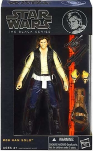 Star Wars Black 6 Inch Series 2 Action Figure Han Solo [Episode IV]