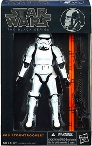 Star Wars Black 6 Inch Series 3 Action Figure Stormtrooper