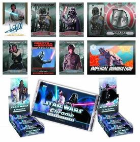 Star Wars Chrome Perspectives Trading Card Box Pre-Order ships May