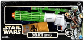 Star Wars Disney Exclusive Star Tours Electronic Blaster Boba Fett New!