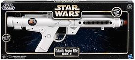 Star Wars Disney Exclusive Star Tours Electronic Blaster Galactic Empire Rifle [BlasTech E-11] New!