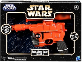 Star Wars Disney Exclusive Star Tours Electronic Blaster Rebel Alliance [BlasTech DL-44] New!
