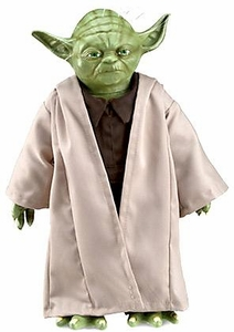 Star Wars Disney World Star Tours 17 Inch Latex Plush Figure Yoda New!