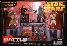 Star Wars EIII Revenge of the Sith Deluxe Battlepack Action Figure Set Jedi vs. Separatists
