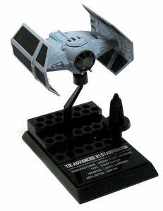Star Wars Japanese F.toys 1/144 Scale Micro Vehicle Model Vader's TIE Advanced