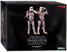 Star Wars Kotobukiya ArtFX 1/10 Scale Statue 2-Pack Sandtrooper Squad Leader New!