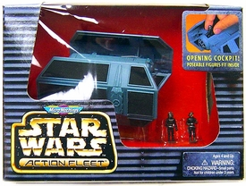 Star Wars Micro Machines Action Fleet Tie Bomber Featuring Imperial Pilot & Naval Trooper