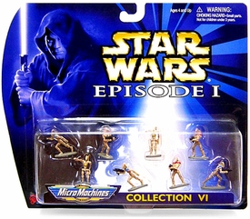 Star Wars Micro Machines Episode I Collection VI Battle Droids